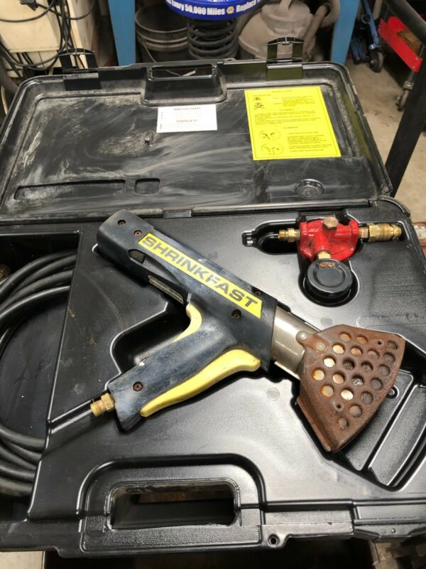 Shrinkfast 998 Heat Gun With Case and Regulator