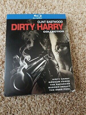 Dirty Harry Collection Box [Blu-ray] watched once