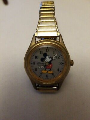 Women's Vintage MICKEY MOUSE by LORUS Quartz Watch. Pre-owned