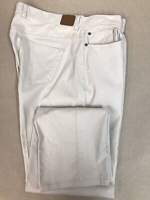Peter Millar Cotton Stretch 5 Pocket Pants Lightsand Khaki Mens 40 x 32