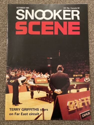 Snooker Scene Magazine October 1985