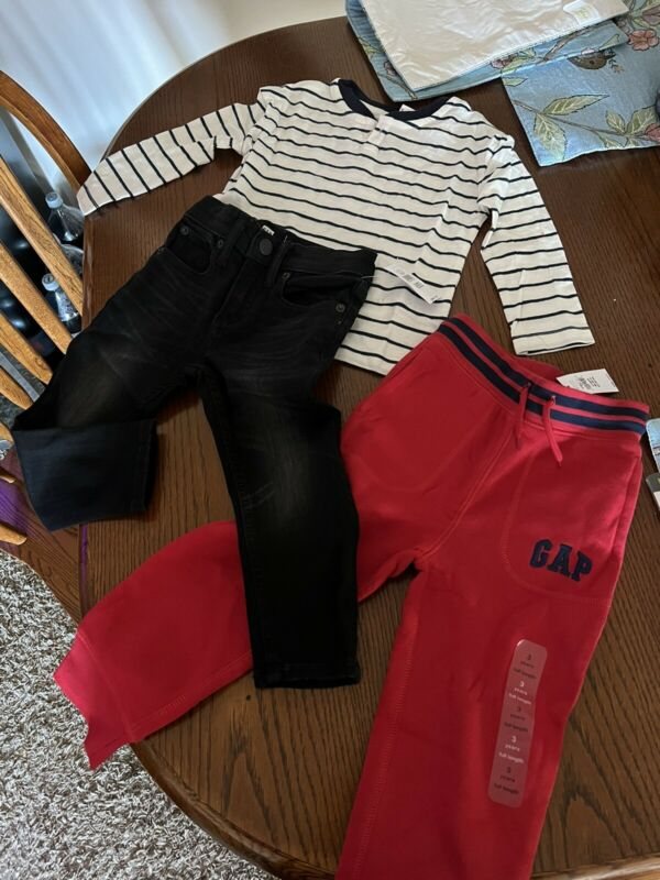 Baby Gap lot of three items size toddler 3 years Boy