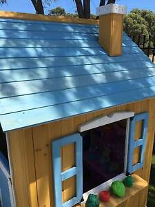 Kids Ground Level Indoor or Outdoor Wooden Cubby House Playhouse East Perth Perth City Area Preview