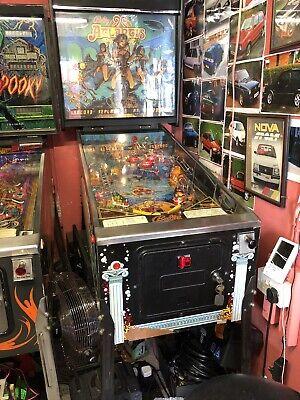 Bally Atlantis pinball machine