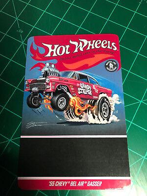 Candy Cars (Hot Wheels Car Meet 55 Chevy Bel Air Gasser CANDY STRIPER Card ONLY)