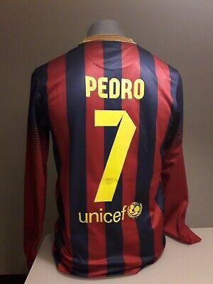 Original Camiseta fc barcelona PEDRO barça messi nike shirt maglia trikot