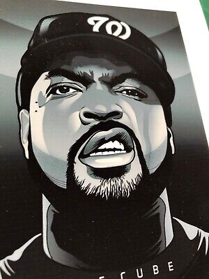 Ice Cube Collection - Ice Cube Art Print Collection Actor Rapper