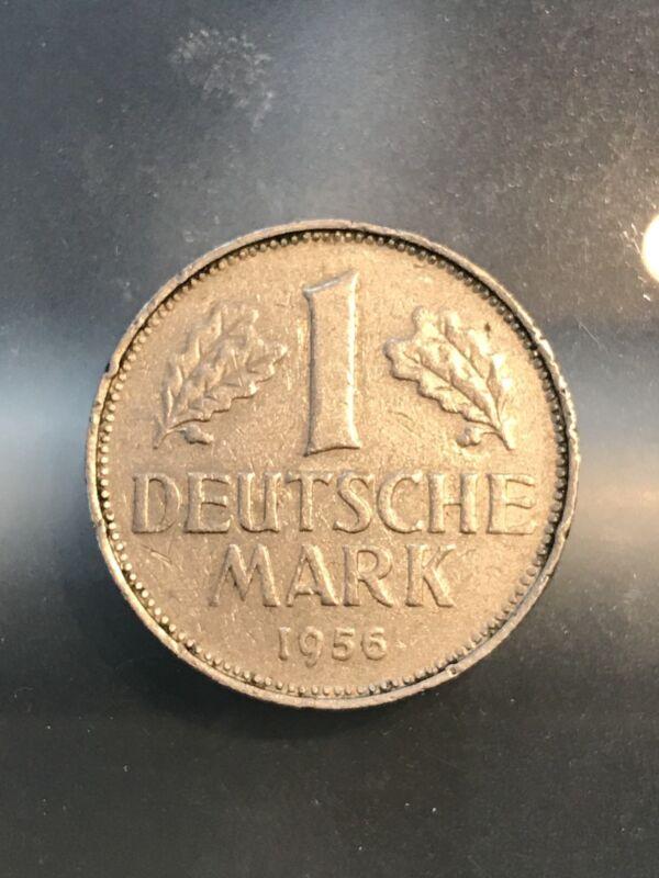 GERMANY FEDERAL REPUBLIC 1956G 1 MARK - 2/20/18 - Free Shipping