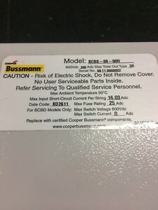 Bussman electrical box - New