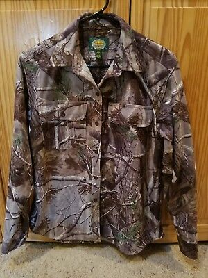 ca2ae527c70f8 Cabela's Women's Realtree Long Sleeve Hunting Shirt