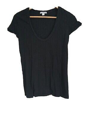 James Perse Black T Shirt 1