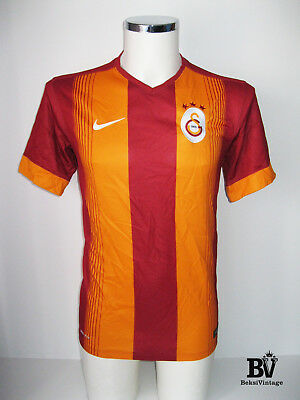 Nike Galatasaray AS Original Football Shirt Jersey 2014-2015 CUP Turkey Size M  image