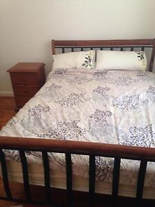 Queen size bed, 2 Bedside tables, 1 Tall Boy chest of draws Leichhardt Leichhardt Area Preview
