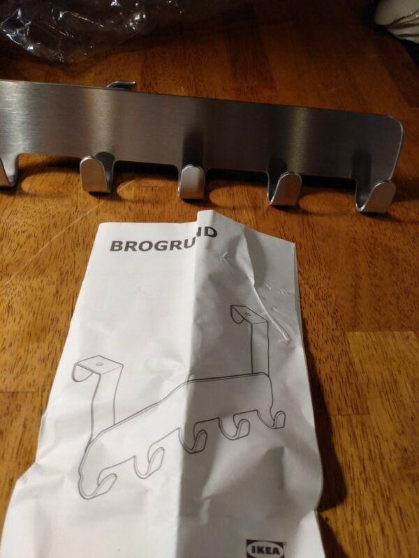 IKEA Brogrund Hanger for Door Stainless Steel 203.285.44