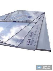plaque incolores polycarbonate verre acrylique le plexiglas 1000 x 600 x mm ebay. Black Bedroom Furniture Sets. Home Design Ideas