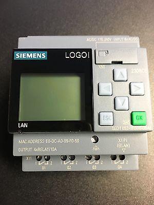 Siemens LOGO Modul 6ED1 052-1FB00-0BA8 230RC (115...240V) AC/DC  V.8 FS 04 N E U