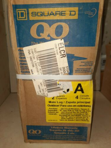 Square D QO Main Lug Outdoor Load Center - $44.00