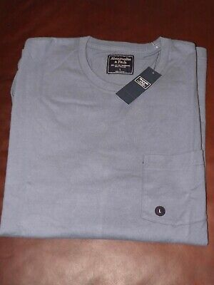 Abercrombie and Fitch long sleeve Pocket Tee BNWT size L rrp £29