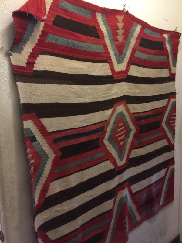Rare Navajo Indian Third Phase Chief Rug