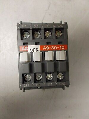 A9-30-10 ABB Contactor 220/230/240VAC 50/60Hz Coil