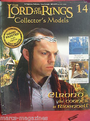 LORD OF THE RINGS MAGAZINE ISSUE # 14 ELROND AT THE COUNCIL OF RIVENDELL ARWEN