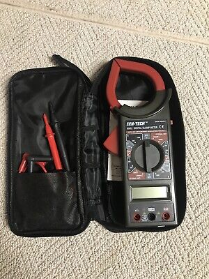 Cen-tech Digital Clamp-on Multimeter With Case