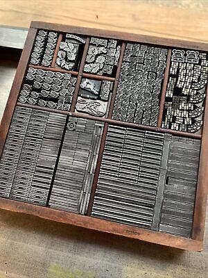 Letterpress Antique Foundry Ornaments Borders Vandercook Press