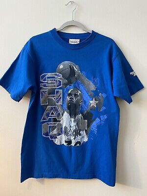 Vintage Shaquille O'Neal Shaq Orlando Magic Reebok T Shirt Medium NBA Basketball Reebok Basketball Tee