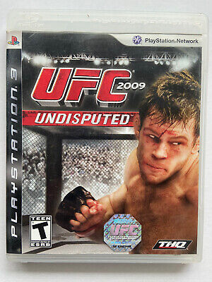 PS3 UFC: UNDISPUTED (PlayStation 3) MMA -Complete w/ manual - FAST SHIPPING, used for sale  Shipping to Nigeria