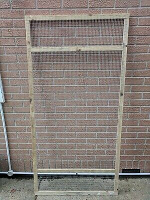 Aviary Panels 6ft x 3ft 19G Wall Panel for Birds Lovebirds canaries budgies