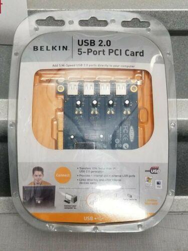 BELKIN USB 2.0 5-PORT PCI CARD