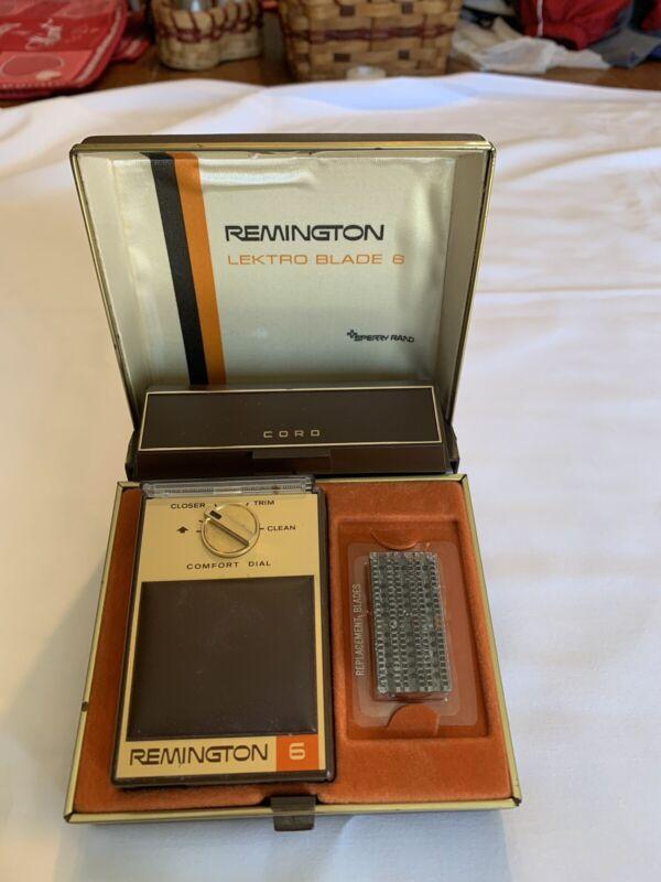 Vintage Remington 6 Electric Shaver