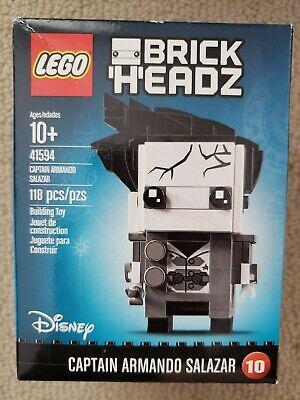 New LEGO Disney Captain Armando Salazar BrickHeadz 41594