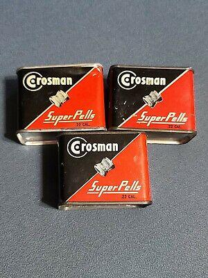 Details about  /Crosman Super BB NY 2.1 oz Box Fairport