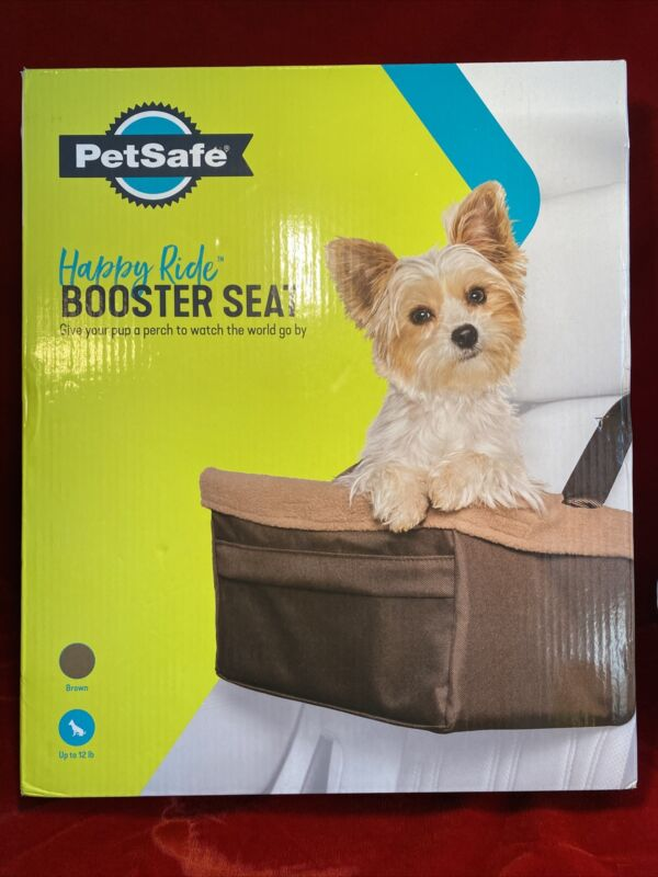 PetSafe Happy Ride Puppy Booster Seat Brown Up to 12lbs