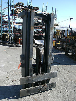 4325m1020 Clark Forklift Mast Upright 170 Lift New Complete W Carriage