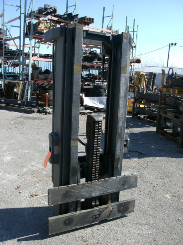 "4325m1020 Clark Forklift Mast Upright 170"" Lift New Complete W/ Carriage"