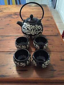 Japanese Style Tea Pot and Cups Wights Mountain Brisbane North West Preview