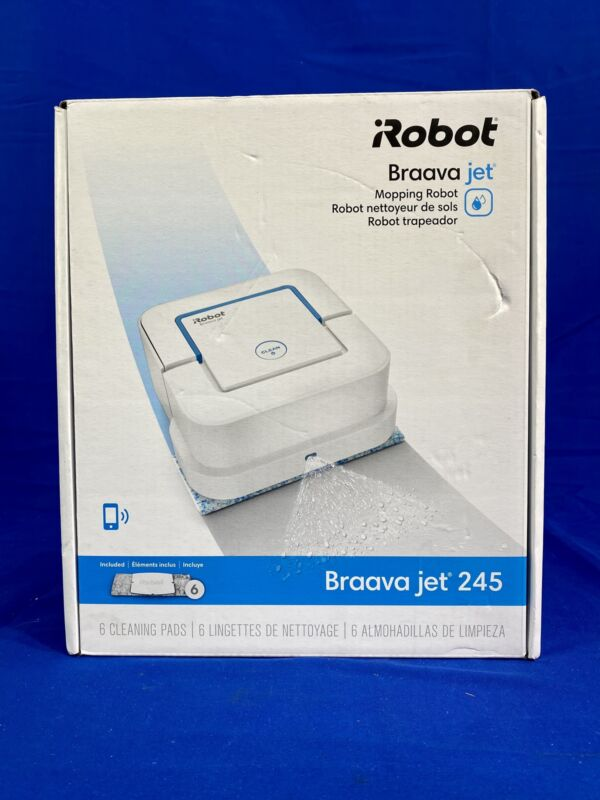 iRobot Braava Jet 245 Automatic Mopping Robot (33676-2)