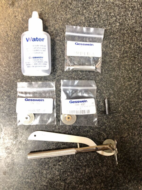 Gesswein 812-1210 Cobalt Ring Cutter