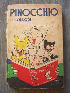 1935-COLLODI-PINOCCHIO-ILLUSTRAZIONI A COLORI DI FAORZI-ADRIANO SALANI-FIRENZE - Italia - 1935-COLLODI-PINOCCHIO-ILLUSTRAZIONI A COLORI DI FAORZI-ADRIANO SALANI-FIRENZE - Italia