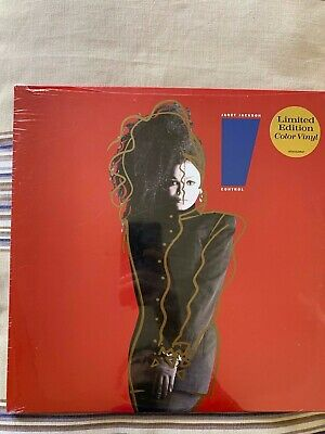 JANET JACKSON - CONTROL - LIMITED EDITION RED VINYL