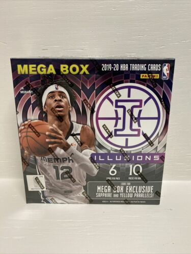 2019-20 Panini Illusions Basketball Nba Mega Box Brand New & Factory Sealed!