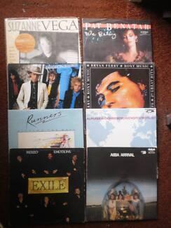 RECORDS VINYL LP -- ALSO 33's  45's  78's