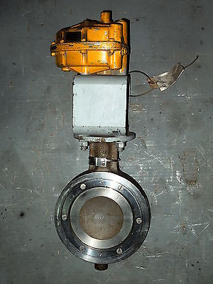 6 Posi-seal Ss Wafer Butterfly Valve Wmatryx 200 Actuator