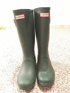 Forest Green Hunter Boots