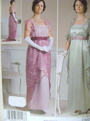 Great Gatsby Female Costumes (Simplicity 1517 Corset~Belt~Skirt~Dress~Great Gatsby~Titanic era~Sewing)