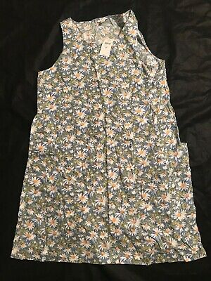 J.Jill New Daysy floral linen Shift dress size  ML MP  Blue White $79 comprar usado  Enviando para Brazil