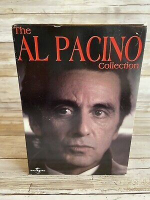 The Al Pacino Collection DVD Box Set Scarface Carlitos Way 0025192070129