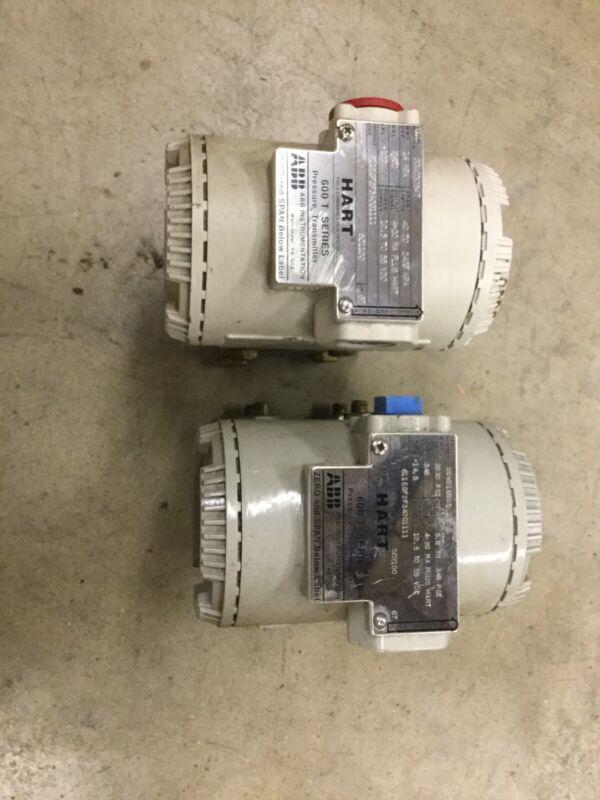 2 ABB/HART 600T Series Pressure Transmitters 611EGF2F3A0G1111 2030 PSI